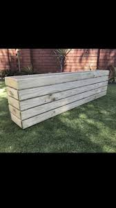 wooden planter boxes made to order