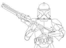 Star Wars Stormtrooper Clone Wars Coloring Pages Action Coloring