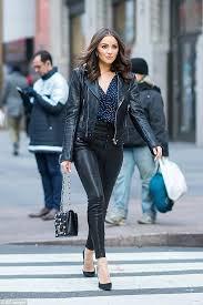linea pelle ryder moto leather jacket