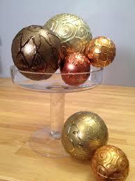 Decorative Sphere Balls Easy Embossed Look Smooth Foam Balls KOOL TAK 4