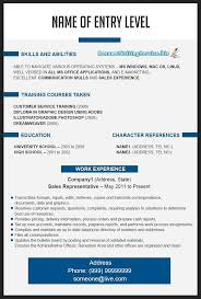 Visual Resume Builder Resume For Study