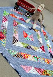 Best 25+ Kid quilts ideas on Pinterest | Baby quilts for boys ... & Perfect Prism Charm-Friendly Baby Quilt Adamdwight.com