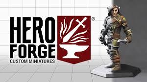 hero forge character sheet forge custom miniatures