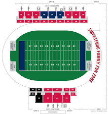 William And Mary Football Stadium Seating Chart New Robins Stadium Seating Chart University Of Richmond
