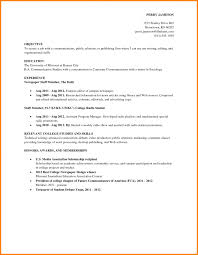 Job Resume Samples For College Students How To Write Student Withes