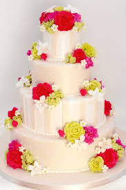 cake boss wedding cakes with flowers. Interesting Cake Flower Green And Pink Image Intended Cake Boss Wedding Cakes With Flowers