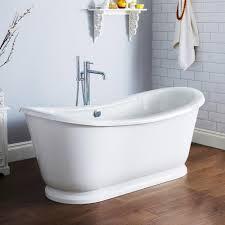 bathtub design awesome freestanding bathtubs wallowaoregon com choose the best acrylic bathtub inch tub square slipper