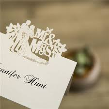 place cards Laser Cut Wedding Place Cards cheap mr and mrs laser cut place cards ewpc006 black laser cut wedding place cards
