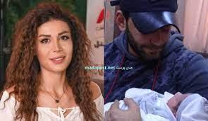 الفنانة روبين عيسى وزوجها الكابتن علي جلول يرزقان بمولودهما الأول ورد (صور)  - Mada Post - مدى بوست