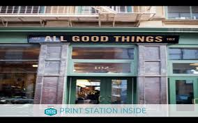 Printwithme Print Kiosk At Our Coffee Shop Long Island City Ny