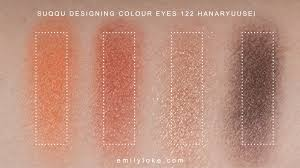 Suqqu Designing Color Eyes Palette 122 Suqqu Xmas 2018 Interstellar Emilyloke Com