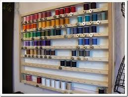 craft room ideas bedford collection. Ideal Sewing Room Match Your Bobbins Their Spools Craft Ideas Bedford Collection