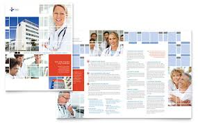 healthcare brochure templates free download hospital brochure template design
