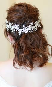 新着商品海外挙式小枝アクセサリー ブライダル髪飾り B 349 2色