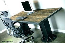 rustic office desk. Rustic Computer Desk Office Small Writing Oak .