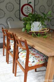 new dining room table and vine chairs september 18