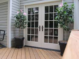 Image of: Pella French Patio Doors At Lowes