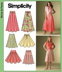 Long Skirt Patterns Magnificent Simplicity 48 Misses' Skirts