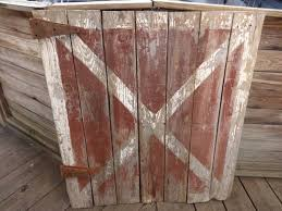 red and white barn doors. Md Half Barn Door Red White X And Doors N