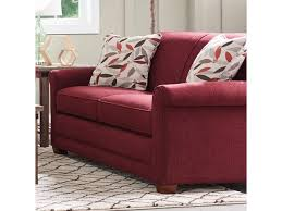 Lazy Boy Living Room Furniture La Z Boy Amanda Casual Sofa With Premier Comfortcore Cushions