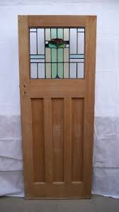 reclaimed 1 over 3 stained glass door image