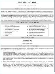 Resume For Mechanical Engineer With Experience Igniteresumes Com
