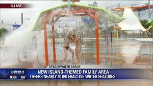 hurricane harbor arlington texas new water playground opens at hurricane harbor story kdfw
