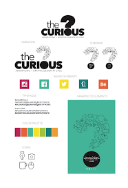 Cpcc Graphic Design The Curious Branding On Behance