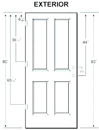 Fireplace Door Size Chart Door Height Inches Lsutigerama Co