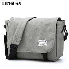 US <b>Men's Soft Leather</b> Messenger Bags Shoulder Briefcase Bag ...