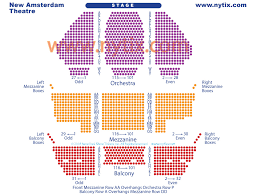 Hamilton Seating Chart Nyc New Amsterdam Theatre On Broadway In Nyc