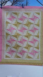 Best 25+ Crib quilt size ideas on Pinterest   Crib quilts, Baby ... & Pink and green crib quilt size 36 x 45 baby girl by djwquilts Adamdwight.com