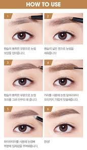 eyebrow contouring. etude house eyebrow contouring multi pencil. b