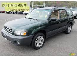 2005 Woodland Green Pearl Subaru Forester 2.5 X #71434258 ...