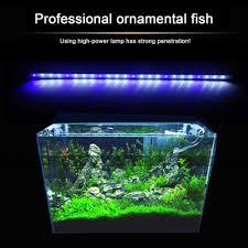 Aquarium Fish Tank Led Light Clip Lamp Pool Bar Submersible