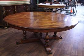 charming round walnut dining table antique extra large solid walnut contemporary decoration full size