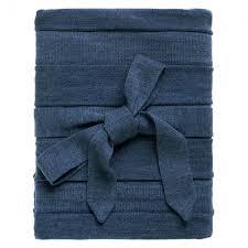 <b>Плед Pleat</b>, синий купить с нанесением логотипа оптом на заказ ...