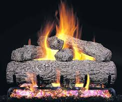 replacement logs for gas fireplace
