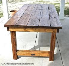 dining table pottery barn diy outdoor plans for giant inspired
