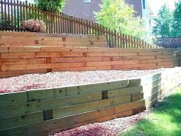 how to build a timber retaining wall best wood for retaining wall landscape wood retaining wall how to build a timber retaining wall