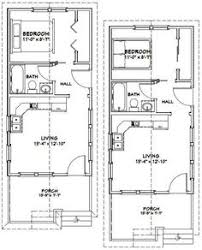 Small Picture 12x20 Tiny Houses PDF Floor Plans 452 sq by ExcellentFloorPlans