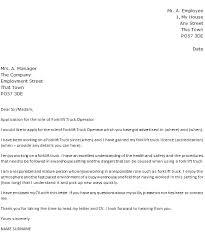 Forklift Cover Letter Magdalene Project Org