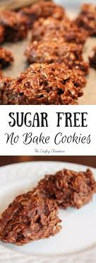It helps to start with a recipe which contains plenty of moist ingredients, like no sugar added applesauce, pumpkin, or pureed fruit. 130 Sugar Free Cookies Ideas Sugar Free Cookies Free Desserts Recipes
