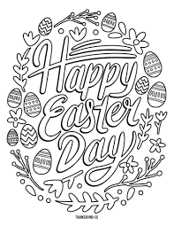 Coloring Pages Ideas Free Easterring Pages To Print Sheets
