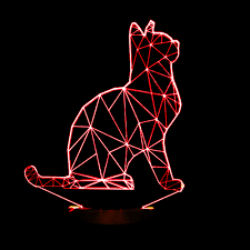 cool mood lighting. 2016 new cool 3d spiralism night lamp cat animal shapes bedroom lights micro usb mood led table lamp night light for child lighting s