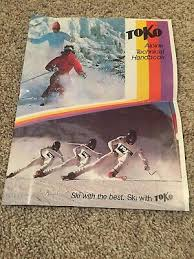 Toko Wax Chart Vintage 1984 Toko Alpine Ski Wax Chart Instruction Service