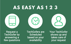 residential tech support on demand tech support how does techgofers