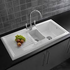 Reginox Traditional White Ceramic 15 Kitchen Sink And Mixer Tap