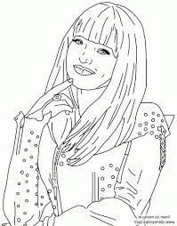 Coloring Pages Astonishing Descendants Coloring Pages Picture