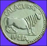 Resultado de imagen de moneda calagurris